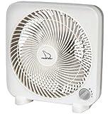 """Polar-Aire S-9PB Mini Box Fan, 9"""""""