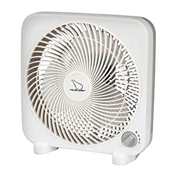 fan box. polar-aire s-9pb mini box fan, 9\u0026quot; fan