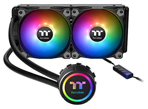 Thermaltake Water 3.0 ARGB Motherboard Sync Edition Intel/AMD 240 All-in-One Liquid Cooling System 2X 120mm High Efficiency Radiator CPU Cooler CL-W233-PL12SW-A