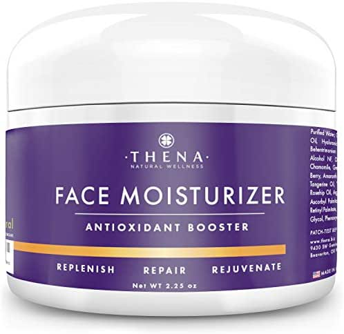 Anti Aging Facial Cream Face Moisturizer For Dry Sensitive Skin With Hyaluronic Acid Retinol Vitamin A C, Organic Natural Face Lotion Wrinkle Eye Cream, Face Care Skin Care Products Women Men