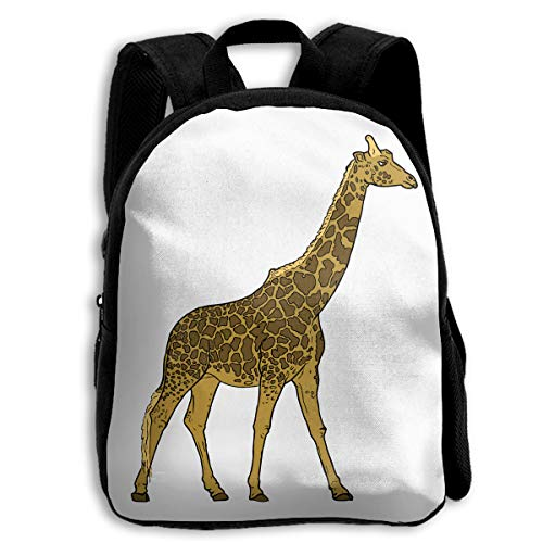 (Nanrijiafutongxundian Children's TravelCute Giraffe Fashion Hiking Backpack)