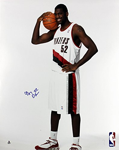 Blazers Greg Oden Authentic Signed 16X20 Photo Autographed BAS #B05217