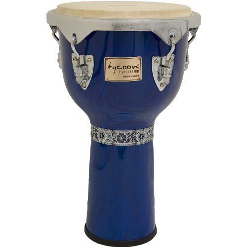 (Tycoon Percussion TJ-713CBL Master Classic Series Djembe, Red, 13-Inch)