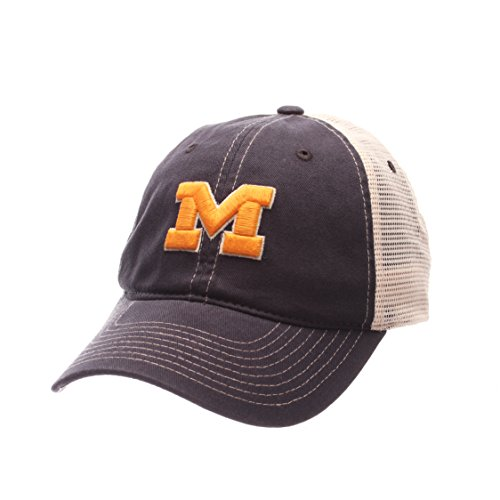 [NCAA Michigan Wolverines Men's Side Out Relaxed Cap, Adjustable, Multicolor] (Michigan Wolverines Clothing)