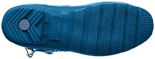 Dames Chasseur De Bottes Wellington Bottes En Caoutchouc Bleu Ardoise Bas, Sombre (bleu / Voler)