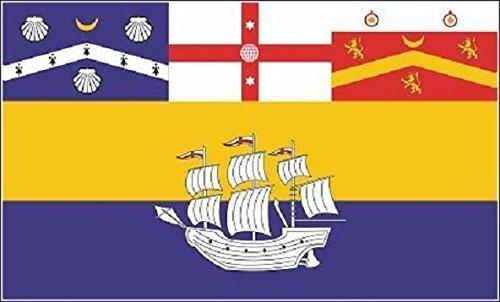 U24 Drapeau du Sydney haute qualité pour bateau drapeau 150 x 250 cm