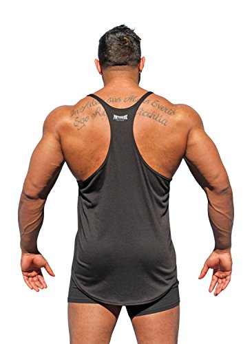 Physique Bodyware Men's Go Hardcore Y Back Tank Top. Seen In The Movie Pain & Gain