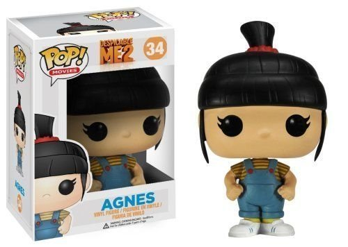 "Funko POP Movies Despicable Me: Agnes 3.8"" Vinyl Figure - Original"