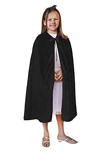 Kids con capucha terciopelo manto Cabo de navidad halloween cosplay disfraces FANCY Masquerade Party Dress Up accesorios,...