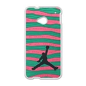 HTC One M7 Phone Case for Classic theme Jordan Logo pattern design GCTJDAL856931