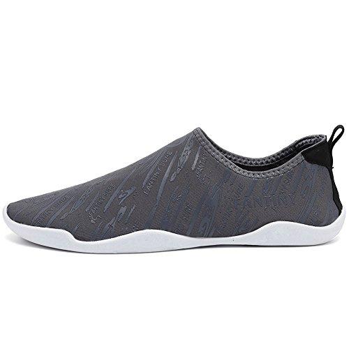D grey Quick Kid's Swim CIOR Dry Shoes Shoes for Men Aqua Women Water Walking Yoga XfZ6WTZO
