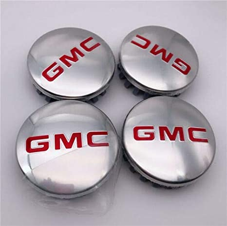 """Cadillac ESCALADE 22 CENTER CAPS WITH /""""GMC/"""" LOGOS! SET-4"""