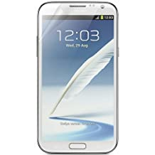 RND 3 Screen Protectors for Samsung Galaxy Note II (2) (Ultra Crystal Clear) with lint cleaning clothes