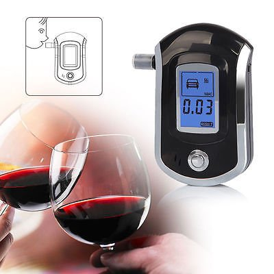 FidgetFidget Advanced Police Digital Breath Alcohol Tester Breathalyzer Analyzer Detector FE (Tester Breathalyzer)