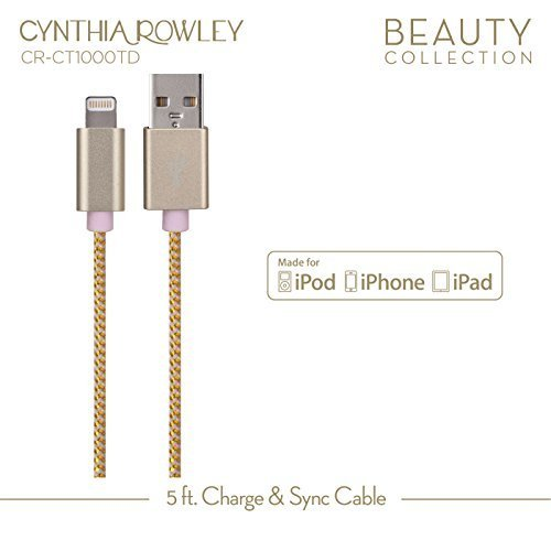 Cynthia Rowley Lightning Cable for Apple - Pink by Cynthia Rowley