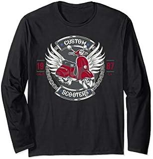 Scooter shirt gift idea for men & women Long Sleeve T-shirt | Size S - 5XL