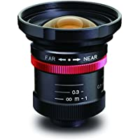 Kowa LM8HC-V 1 8mm F1.4/F2.8/F4/F8 Fixed Iris C-Mount Lens, 2 Megapixel Rated, Ruggedized