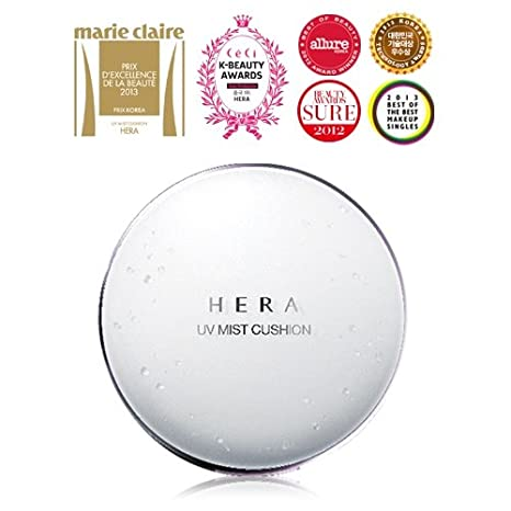 Hera Uv Mist Cushion C21 (Cool Vanilla Cover) Spf 50+/Pa+++ (15g X 2) by Co Co Shop