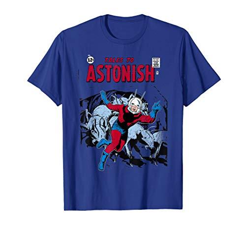 Marvel Ant-Man Classic Retro Comic Cover Graphic T-Shirt