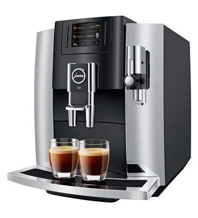 Jura E8 Automatic Coffee Machines 15271, Chrome by Jura