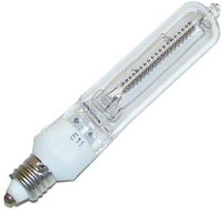 Q400CL//MC 120V General 40012 Screw Base Single Ended Halogen Light Bulb JD-130V//MC//400W//CL