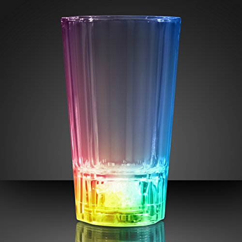 Light Up Liquid Activated Color Changing LED Shot Glass (Set of 6) -