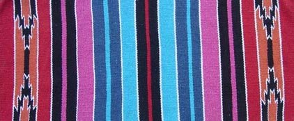 Tahoe Tack Hand Woven Navajo Acrylic Western Horse Saddle Blanket - Multiple Colors - 32x64