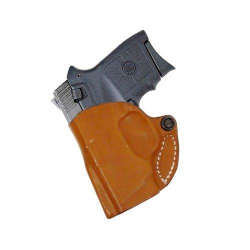 Desantis 019 Mini Scabbard Belt Holster Left Hand Black 2.75'' S&W Bodyguard .380 Leather 019BBU7Z0