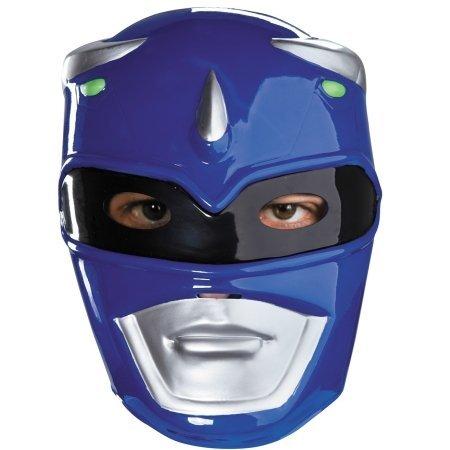 Adult Blue Power Ranger Costumes (Blue Ranger Mask Costume Accessory)