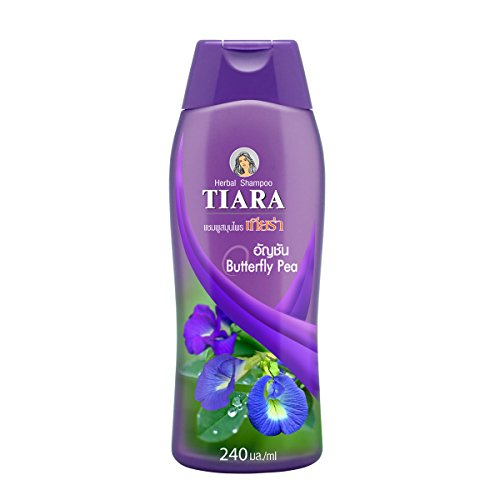 Tiara Herbal Shampoo Butterfly Pea – Natural Herb Gentle Hair Wash : 240ml