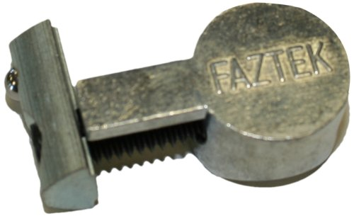 Faztek 15 Series 3 Piece Aluminum Anchor Fastener with Drop-In (Pack of 4) ()