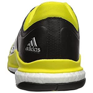 adidas Women's Shoes | Crazyflight X Volleyball Shoe - Lemon Peel/Metallic Silver/Black,Lemon Peel/Metallic Silver/Black,8.5 M US