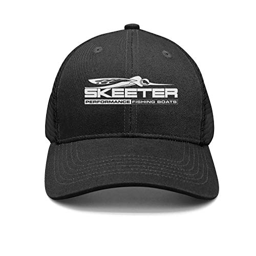 (Skeeter Performance Bass Boats Logo Trucker Cap Classic Athletic Hat)