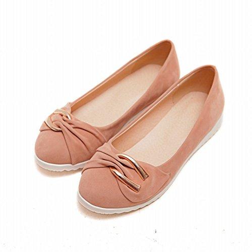 Carol Shoes Elegance Womens Fashion Bowknots Polsino Comfort Chic Scarpe Mocassino Scarpe Rosa