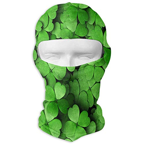 YIXKC Balaclava Luck Shamrock Fabulous Full Face Masks UV Protection for Men Snowboarding -
