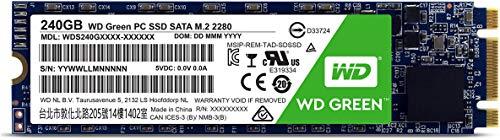 Western Digital 240GB Green M.2 2280 Internal Solid State Drive Model WDS240G1G0B by Western Digital