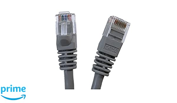 Inc E07-001B-25 Micro Connectors 25 Pack- Black 1 feet Cat 5e UTP Molded Snagless RJ45 Networking Patch Cable