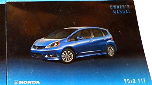 2013 Honda Fit Owners Manual
