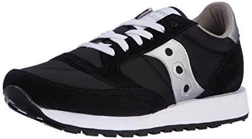 Saucony Originals Mens Jazz SneakerBlackSilver10.5 M