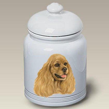 - Best of Breed Cocker Spaniel Buff - Linda Picken Treat Jar