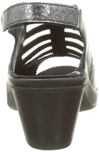 Romika Mokassetta 287 - Sandalias de vestir Mujer Gris - Gris (Anthracite)