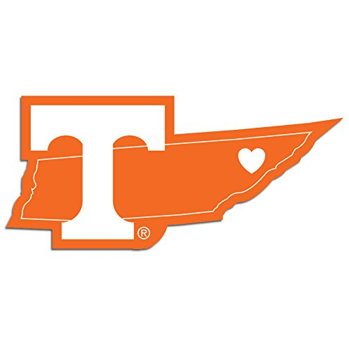 Tennessee Vols Stickers - NCAA Tennessee Volunteers Home State Decal, 5