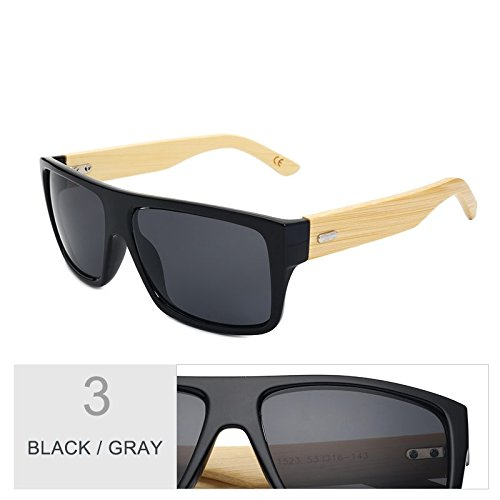De De Gray Leopard Uv400 Mujeres Hombre Gafas De Black D Gafas Bambú Unisex Madera Era De De Brown Gafas Mujer Gafas TIANLIANG04 De Sol Deporte Sol 4wOB84qx
