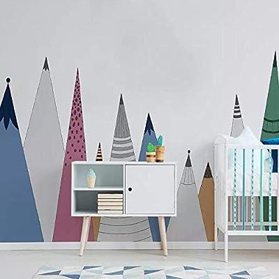 Papel tapiz fotográfico Figura de palo de dibujos animados Mural ...