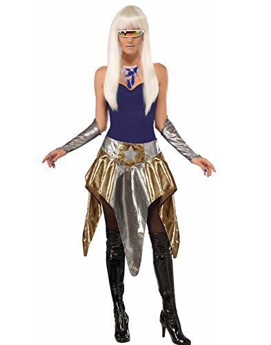 Forum Novelties Women's Futuristic Skirt-Std, Multi, Standard -
