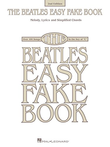The Beatles Easy Fake Book Beatles 9781495065927 Amazon Books
