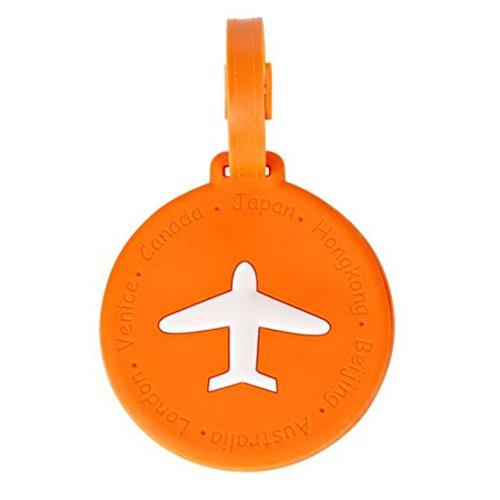 (라라 팬더) LaLaPanda 네임 태그 슈트 케이스 PVC 짐  (luggage)러기지  트래블 여행 용품 (원형,직사각형)