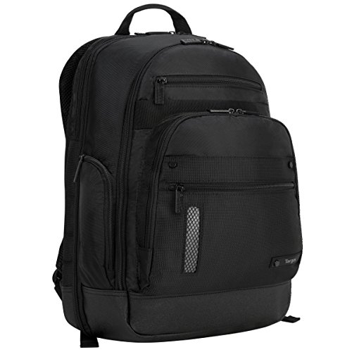 Targus Revolution Checkpoint-Friendly Backpack for 15.6-Inch Laptop, Black (TEB005US)