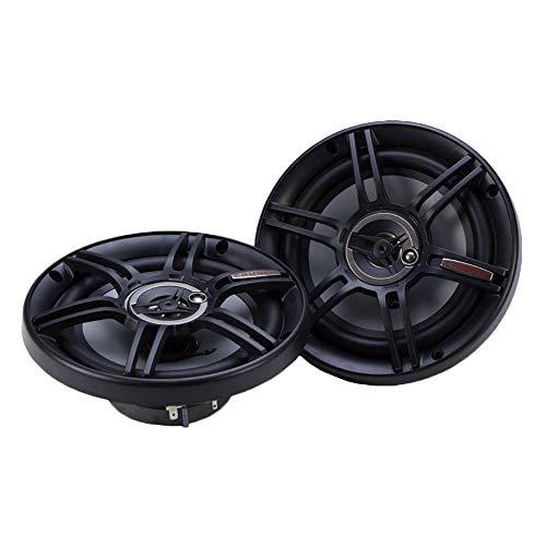 Crunch CS653 Full Range 3-Way Car Speaker, 6.5″