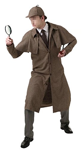 Spy Costume Womens (Ameyda Men's Adult Little Boys Kids Spy Detective Costume)
